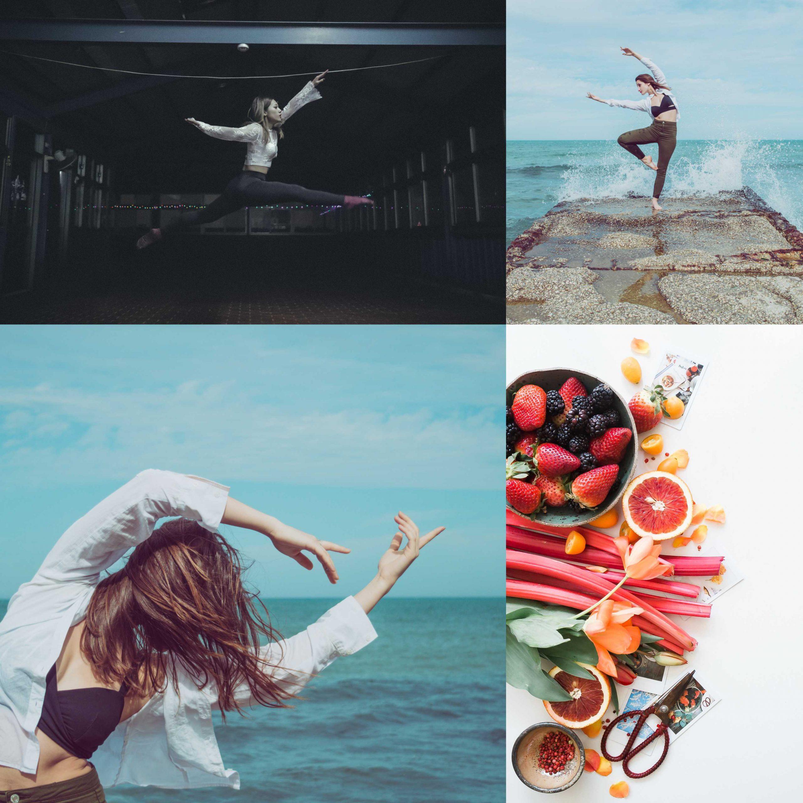 La formula per vivere con gioia (cibo sano + danza)